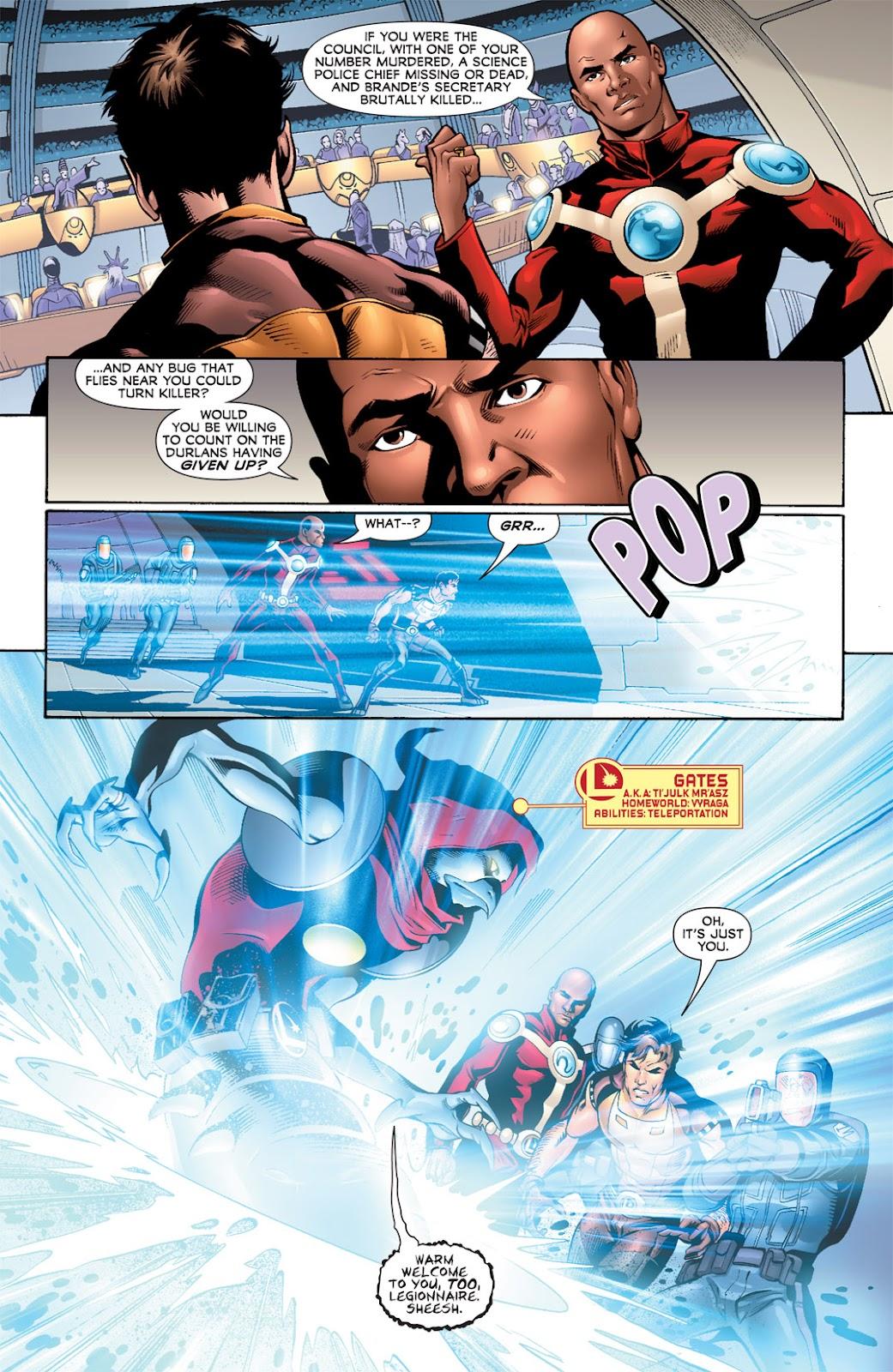 Legion of Super-Heroes (2010) Issue #9 #10 - English 7