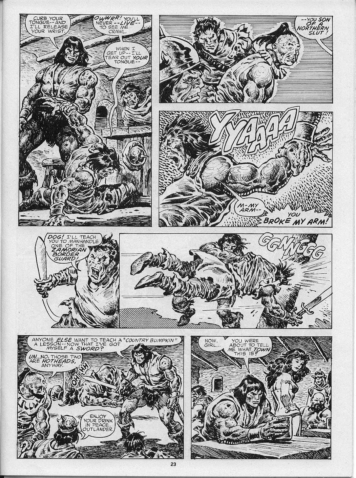 The Savage Sword Of Conan Issue #200 #201 - English 25