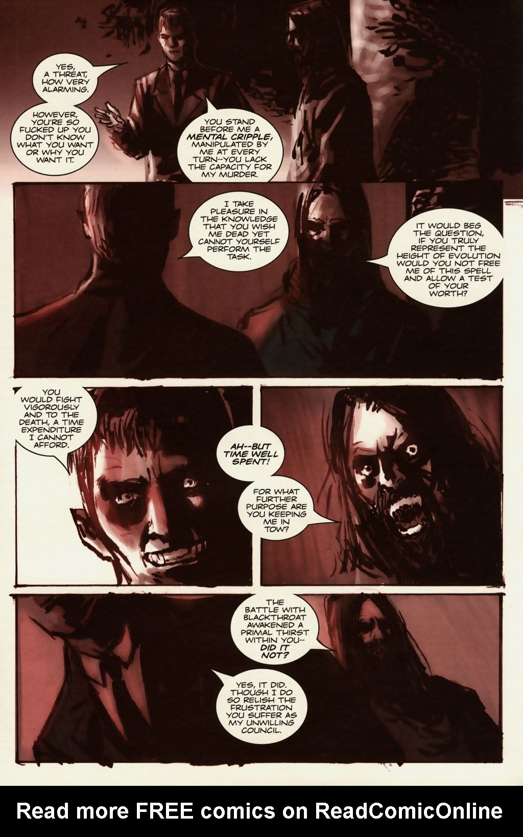 Read online Sea of Red comic -  Issue #13 - 11