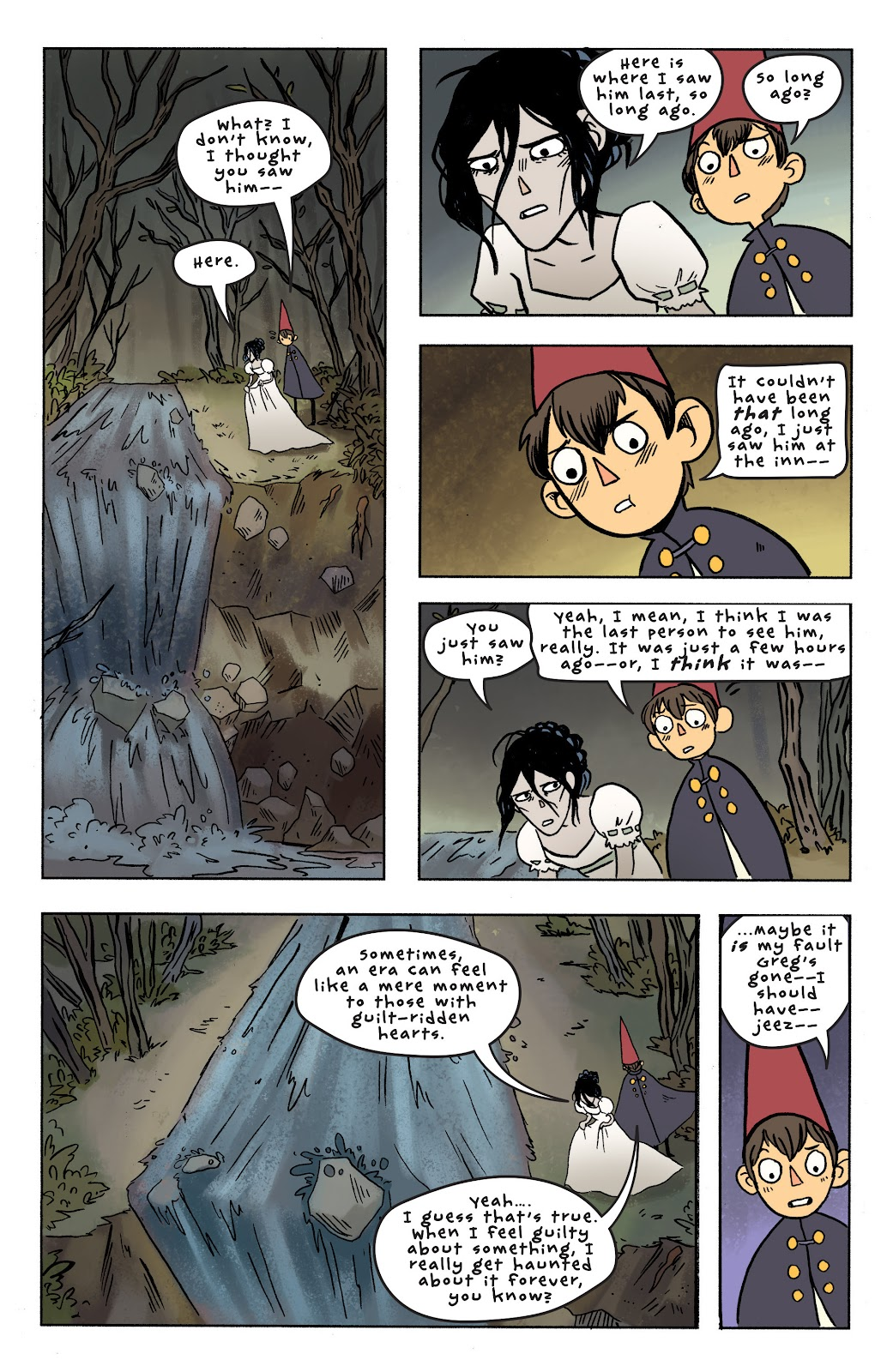 Over the Garden Wall (2016) Issue #7 #7 - English 20