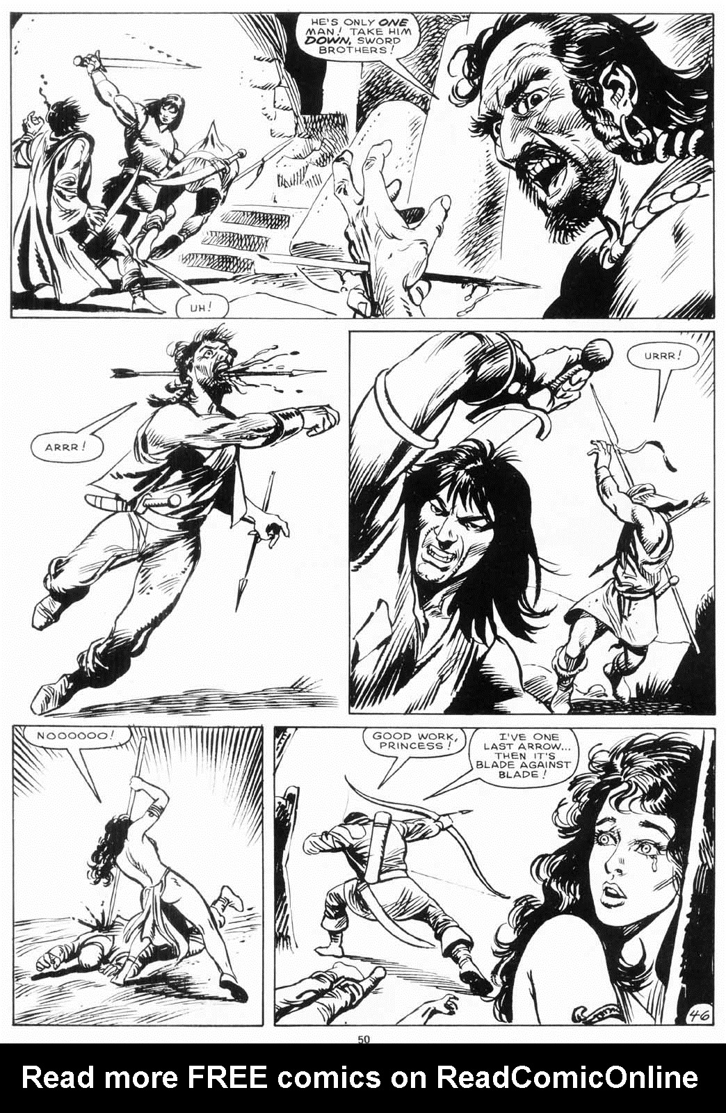 The Savage Sword Of Conan Issue #156 #157 - English 49