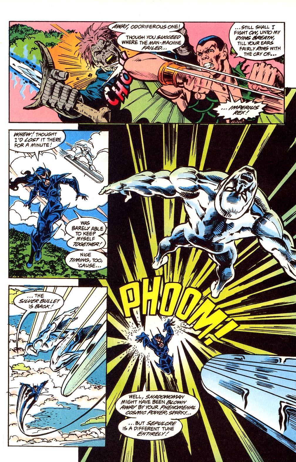 Read online Secret Defenders comic -  Issue #24 - 16