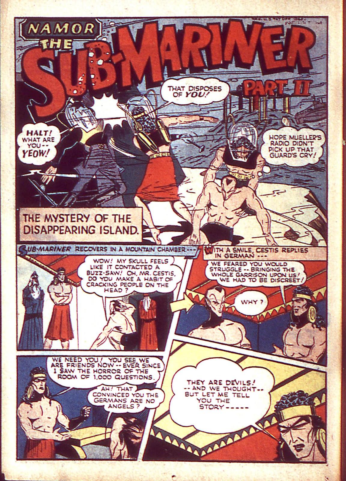 Sub-Mariner Comics Issue #3 #3 - English 25