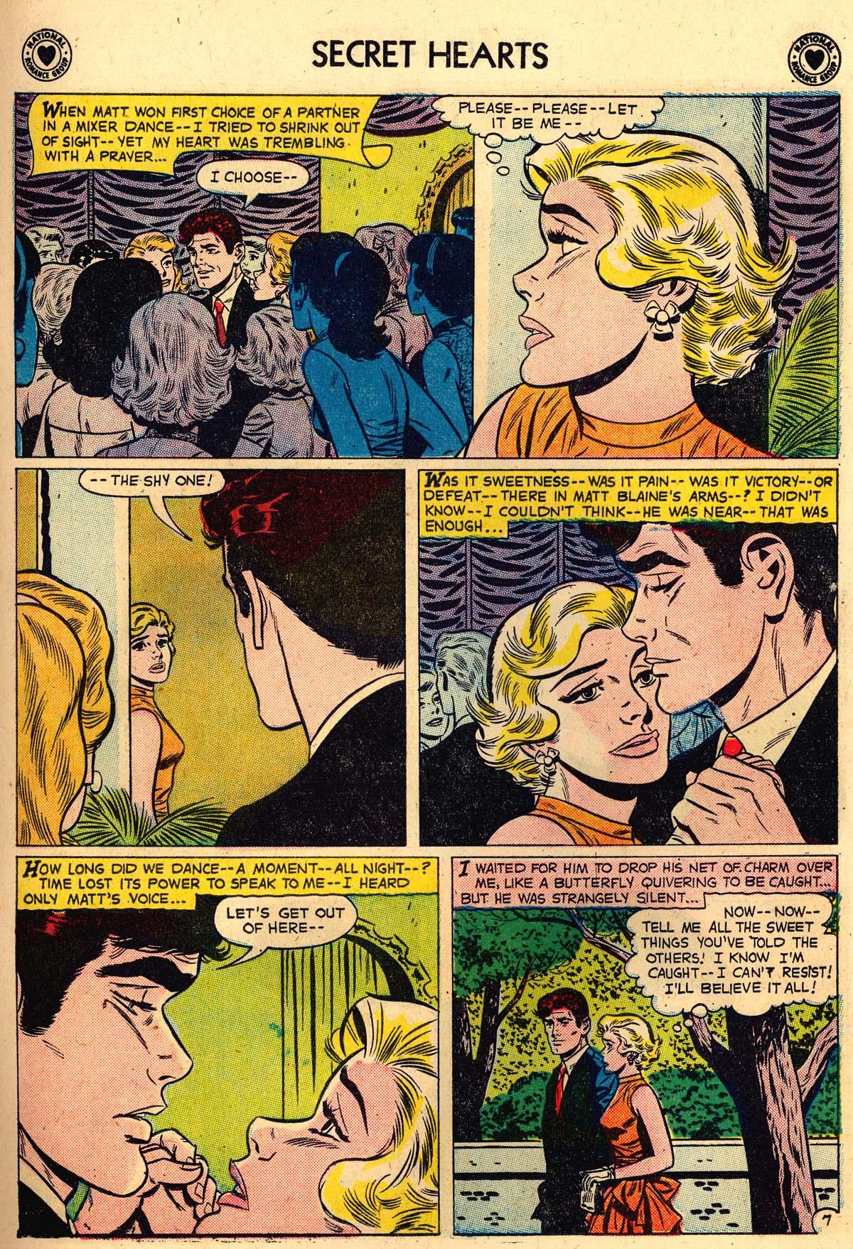 Read online Secret Hearts comic -  Issue #56 - 15