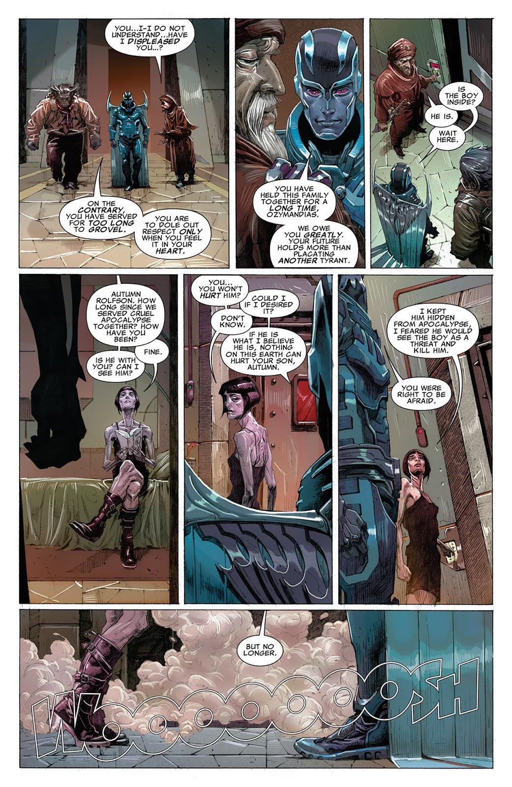 Uncanny X-Force (2010) Issue #14 #15 - English 5
