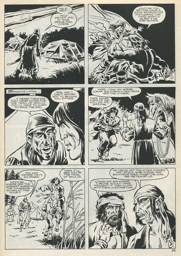 The Savage Sword Of Conan Issue #131 #132 - English 29
