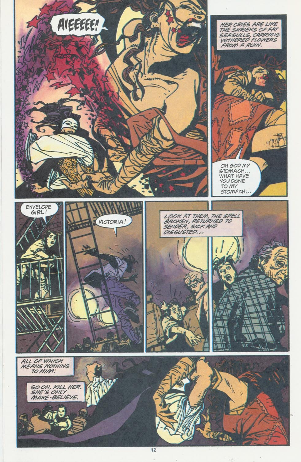 Read online Enigma comic -  Issue #6 - 14