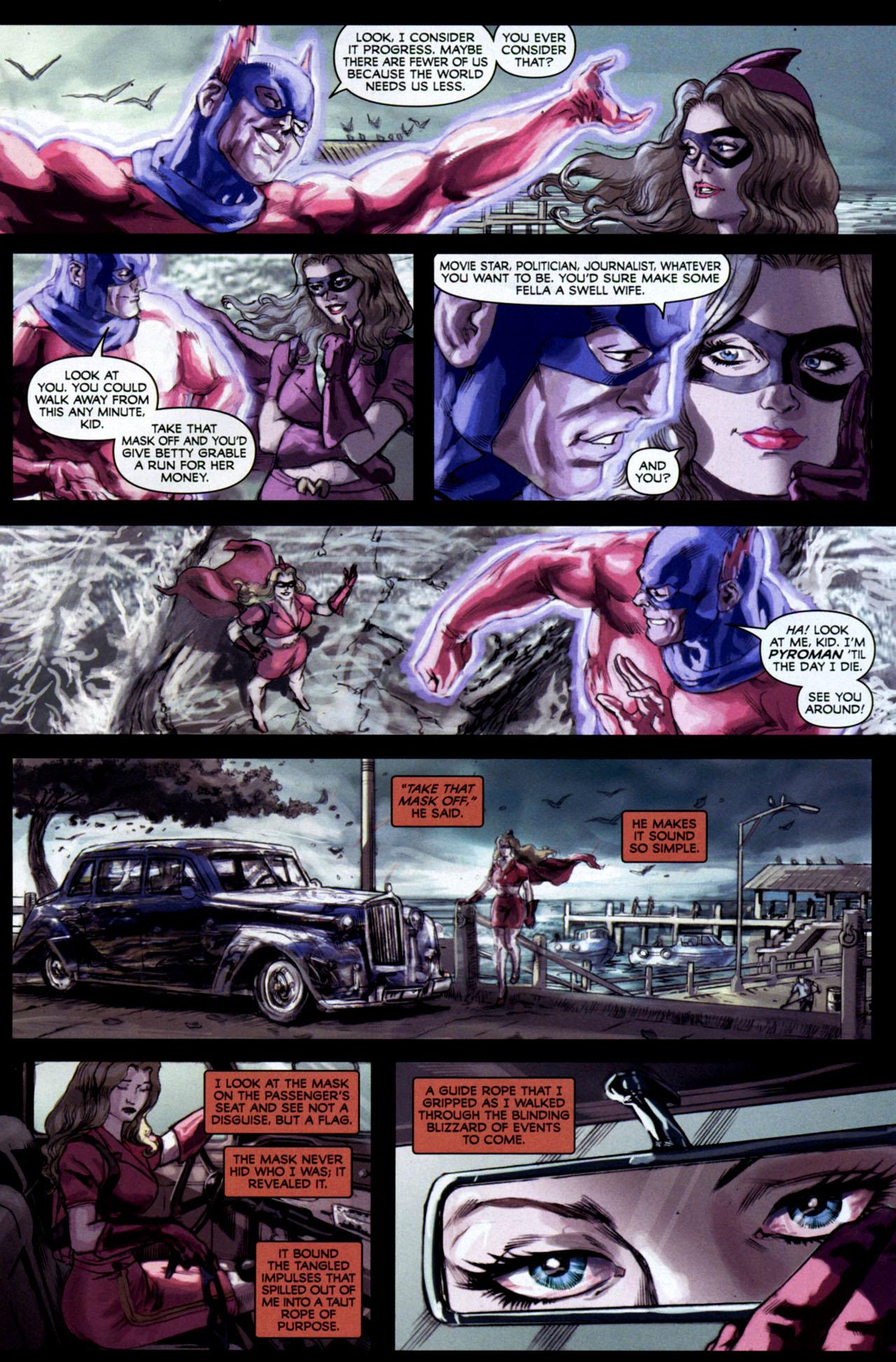 Read online Masquerade comic -  Issue #2 - 16