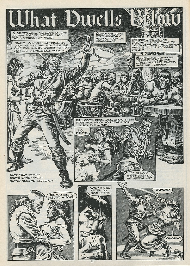 The Savage Sword Of Conan Issue #179 #180 - English 54