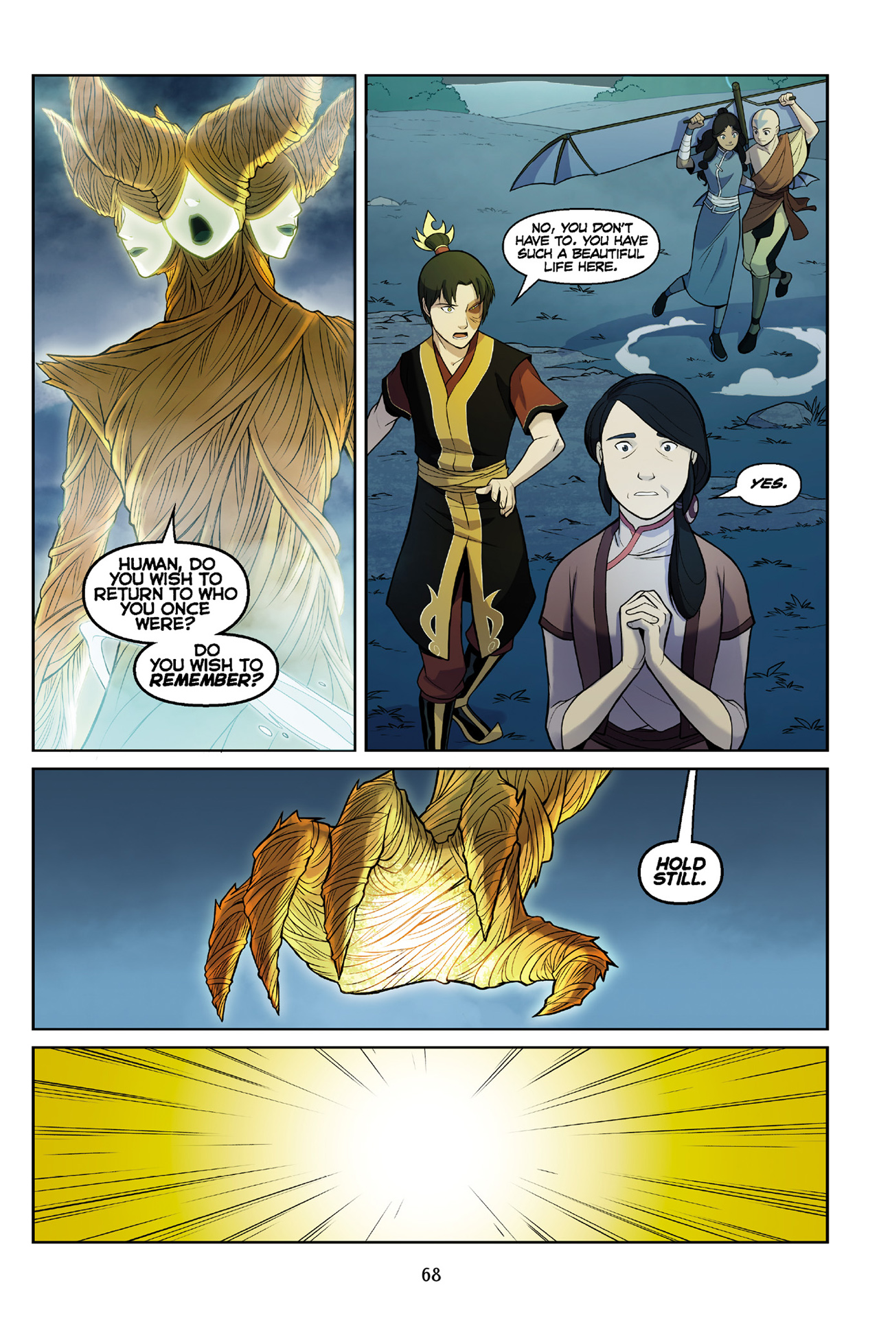 Read online Nickelodeon Avatar: The Last Airbender - The Search comic -  Issue # Part 3 - 68