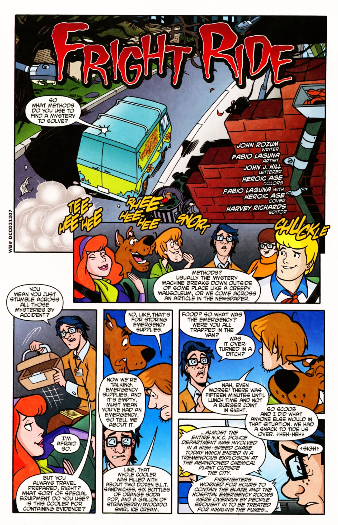 Read online Scooby-Doo (1997) comic -  Issue #151 - 3