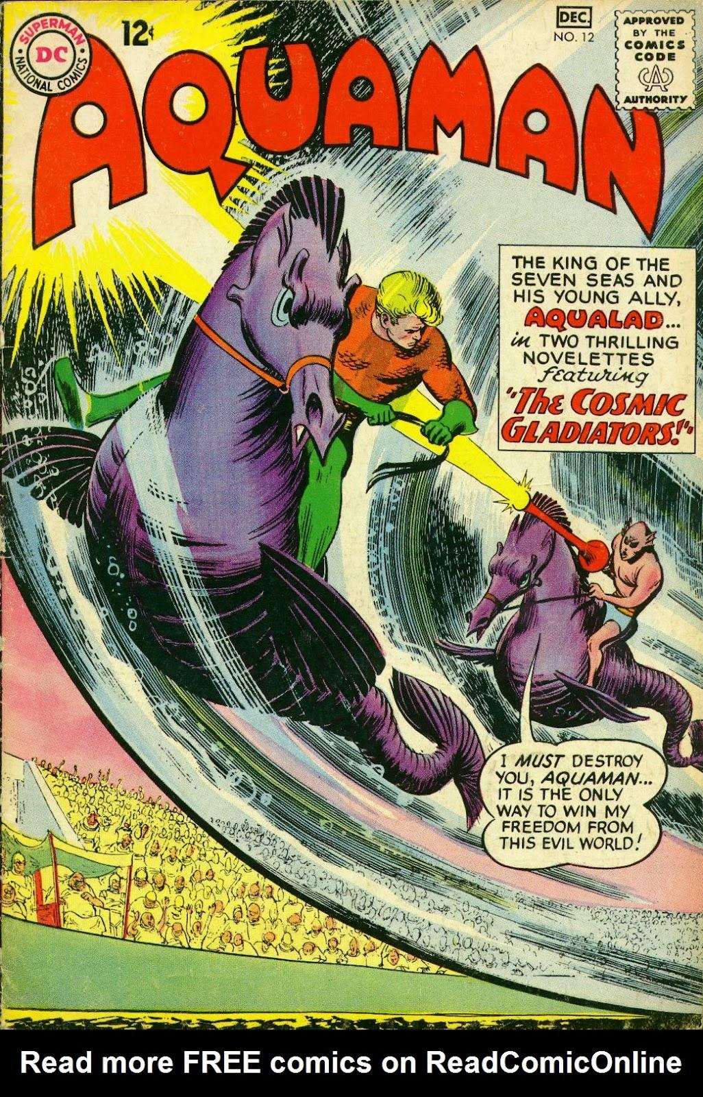 Aquaman (1962) Issue #12 #12 - English 1