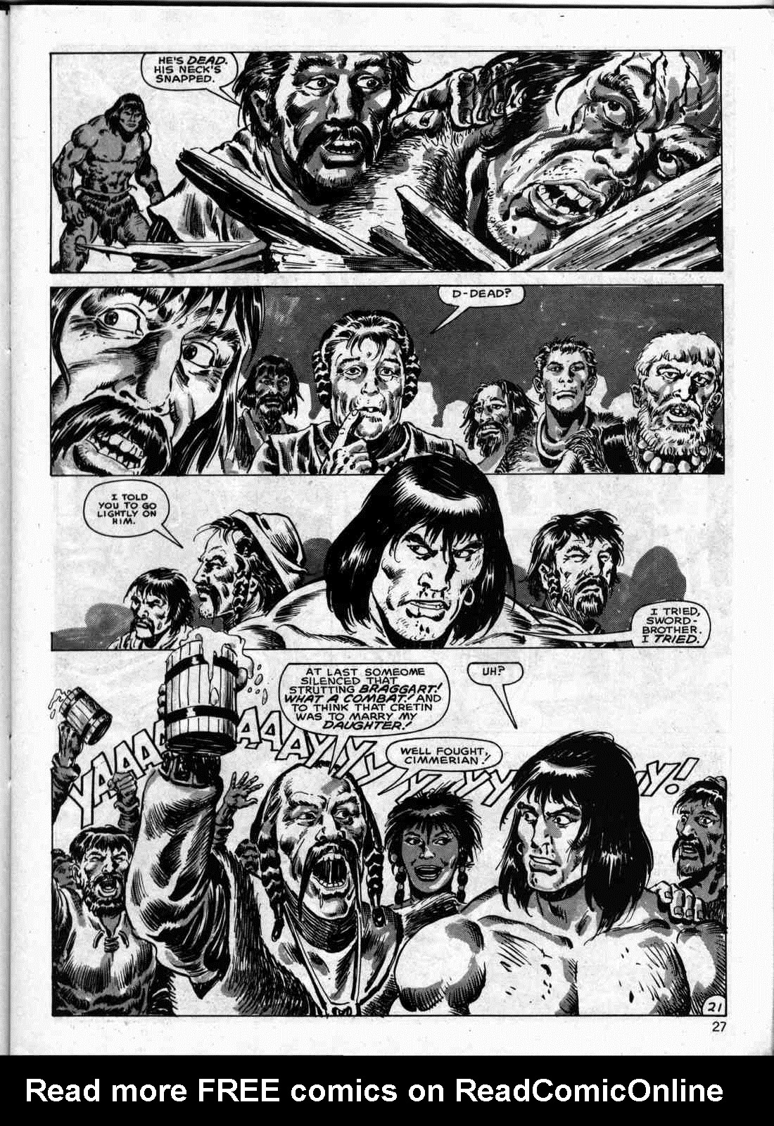 The Savage Sword Of Conan Issue #133 #134 - English 26