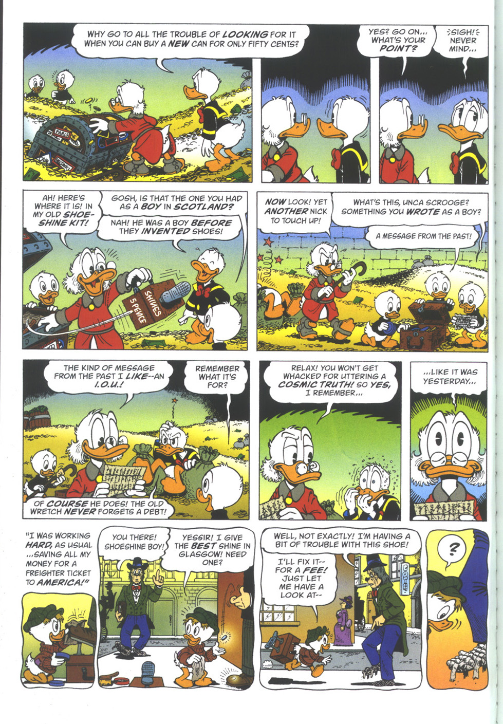 Uncle Scrooge (1953) Issue #334 #334 - English 4