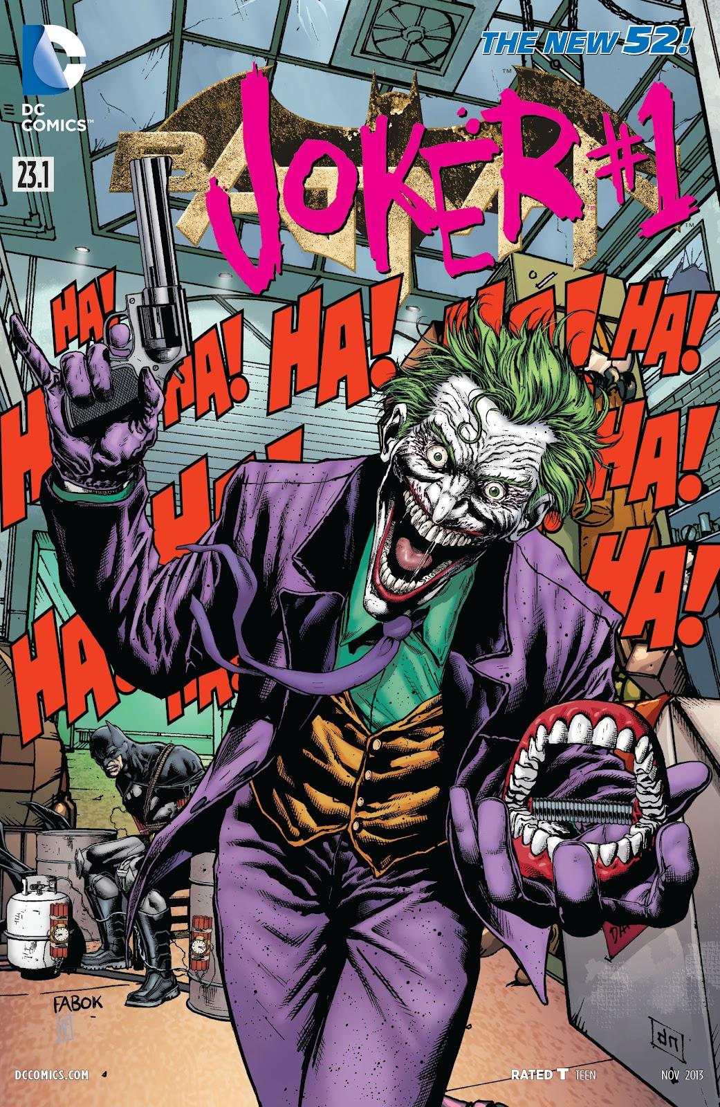 Batman (2011) Issue #23.1 #39 - English 1