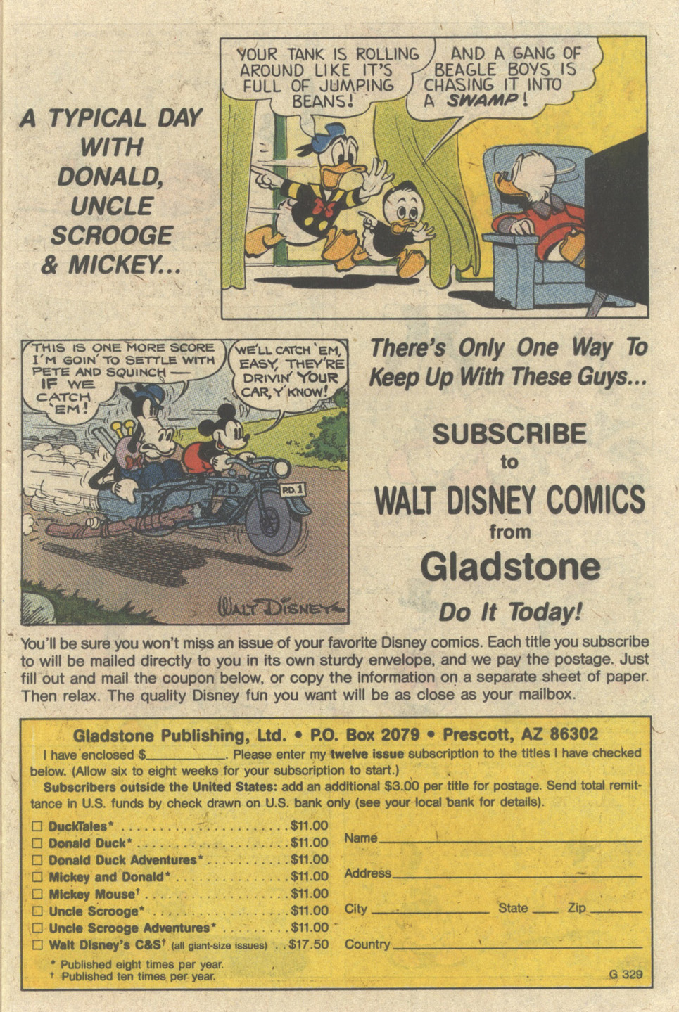 Uncle Scrooge (1953) Issue #235 #235 - English 11
