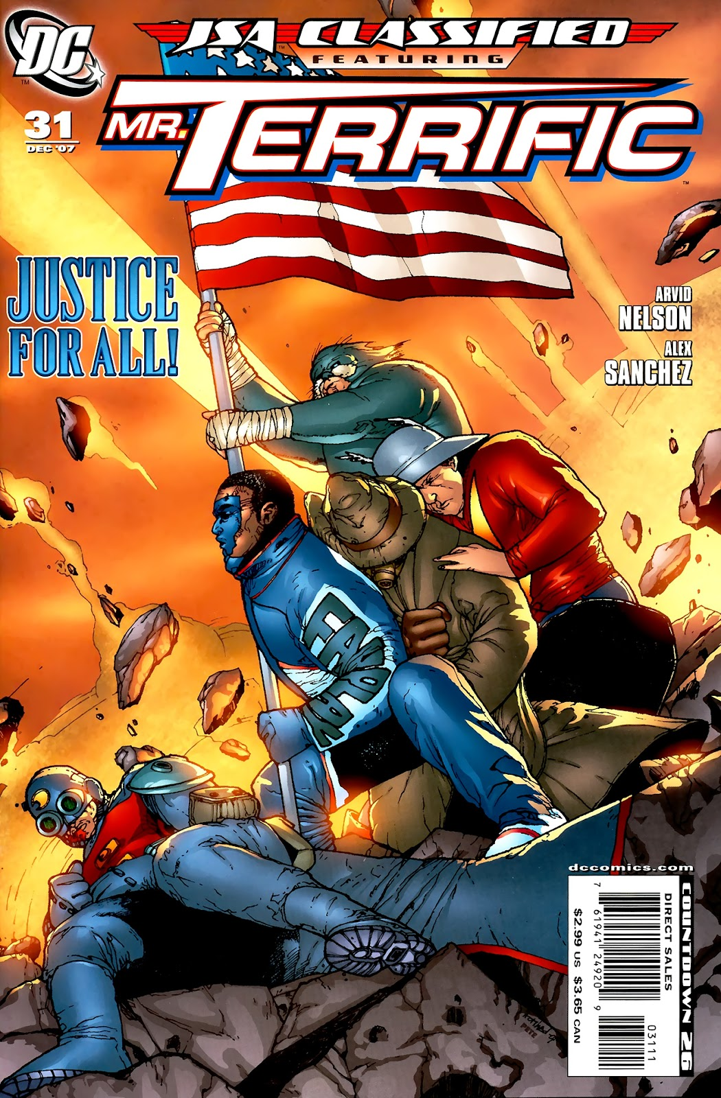 JSA: Classified issue 31 - Page 1