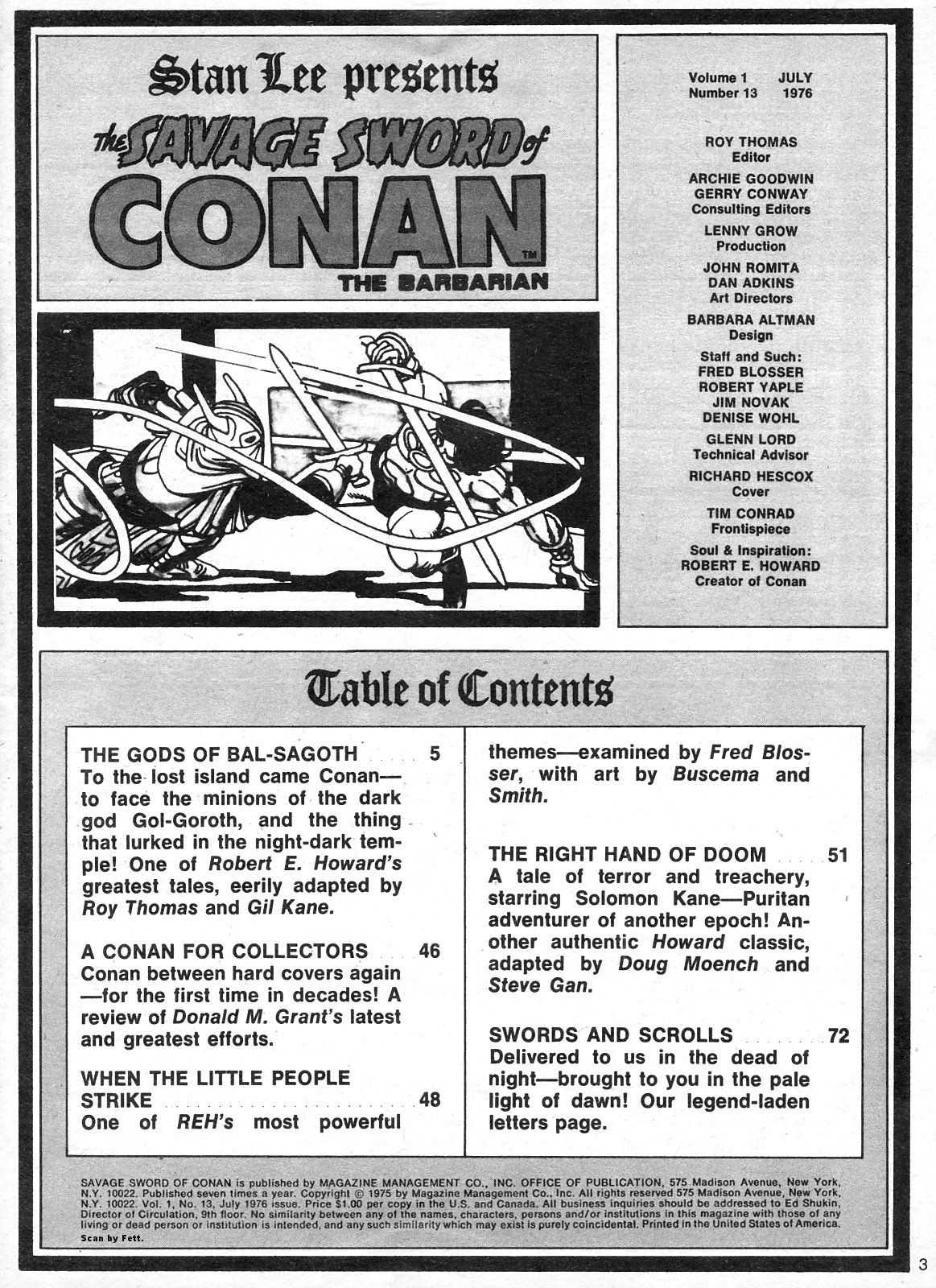 The Savage Sword Of Conan Issue #13 #14 - English 3