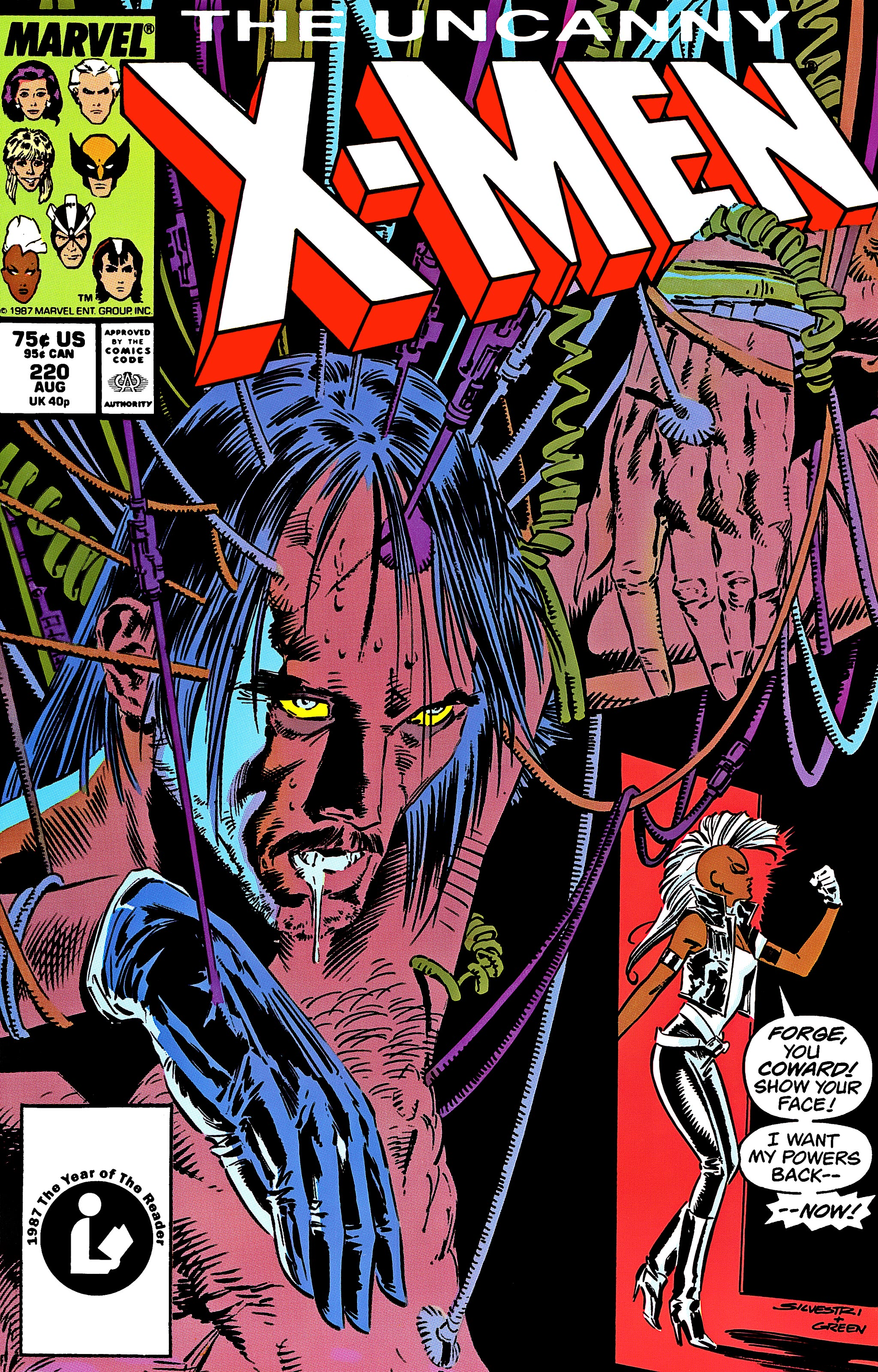 Uncanny X-Men (1963) 220 Page 1