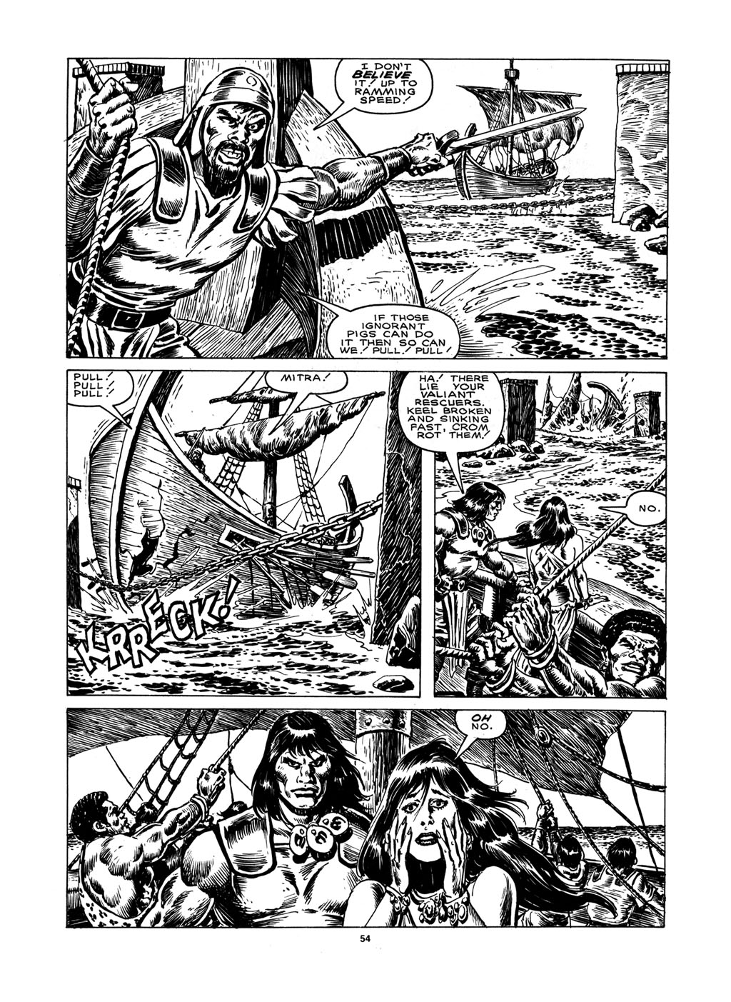 The Savage Sword Of Conan Issue #148 #149 - English 52