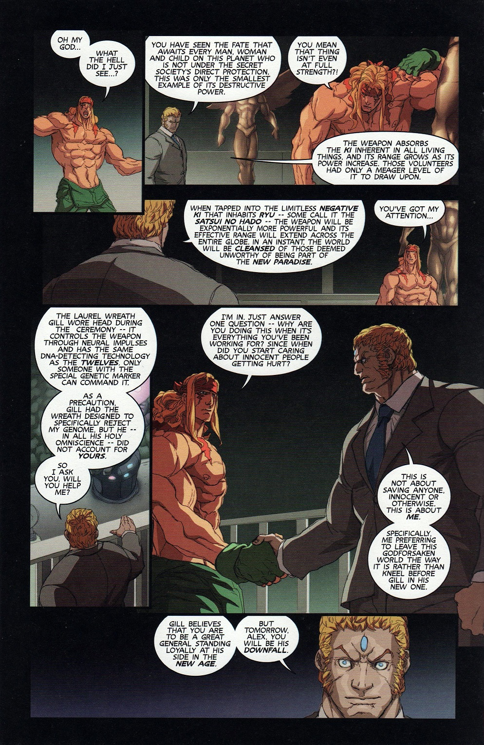 Street Fighter Unlimited Issue #9 #11 - English 16