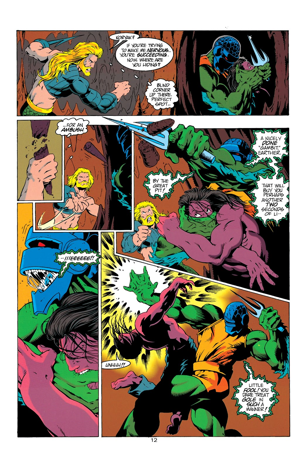 Aquaman (1994) Issue #6 #12 - English 13