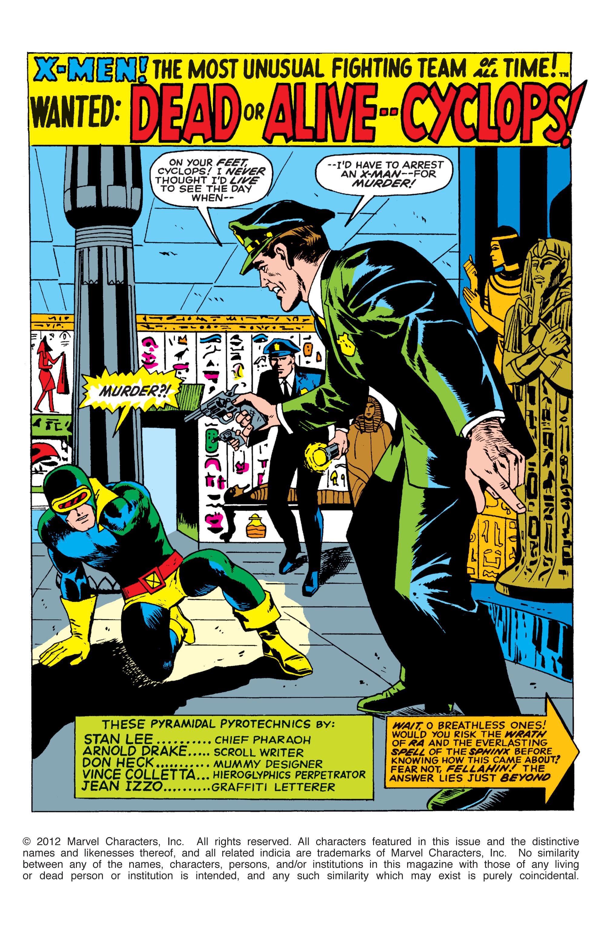 Uncanny X-Men (1963) 54 Page 2