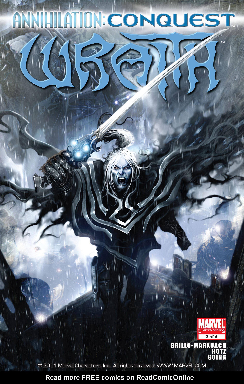 Annihilation: Conquest - Wraith 3 Page 1