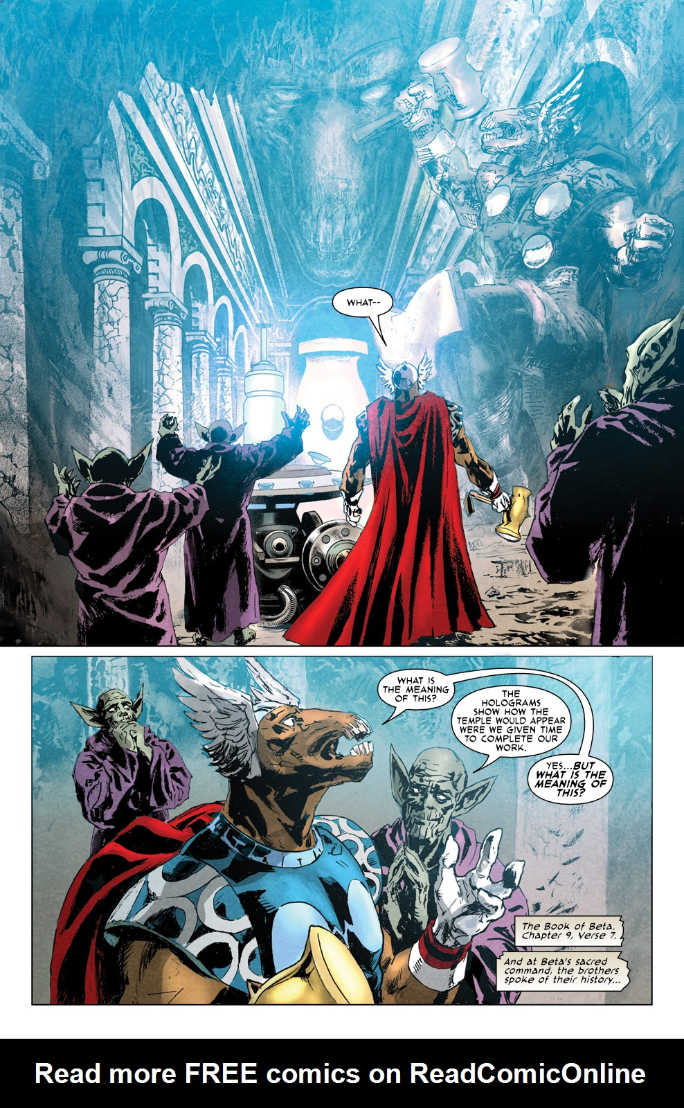 Read online Secret Invasion Aftermath: Beta Ray Bill - The Green of Eden comic -  Issue # Full - 14