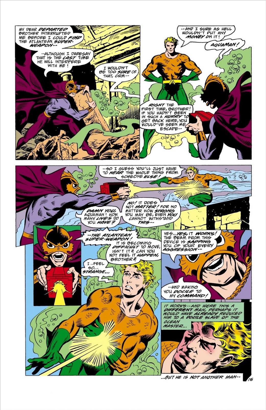 Aquaman (1962) Issue #63 #63 - English 16