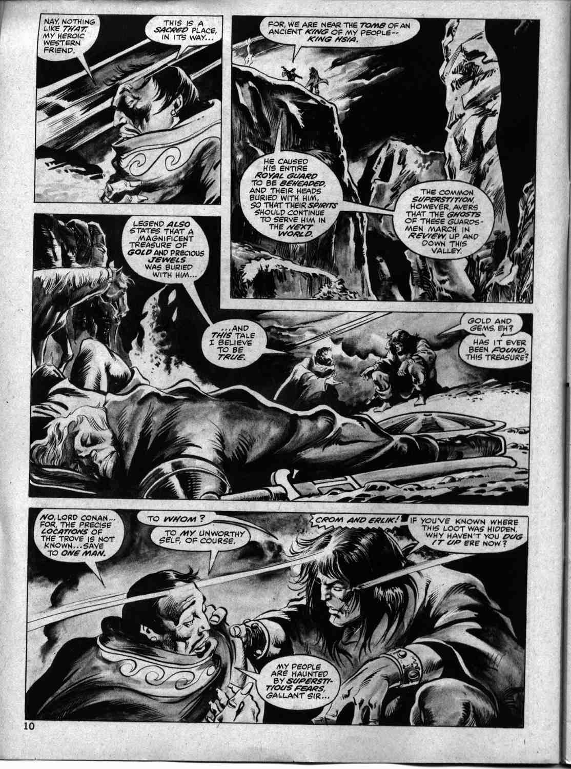 The Savage Sword Of Conan Issue #33 #34 - English 9