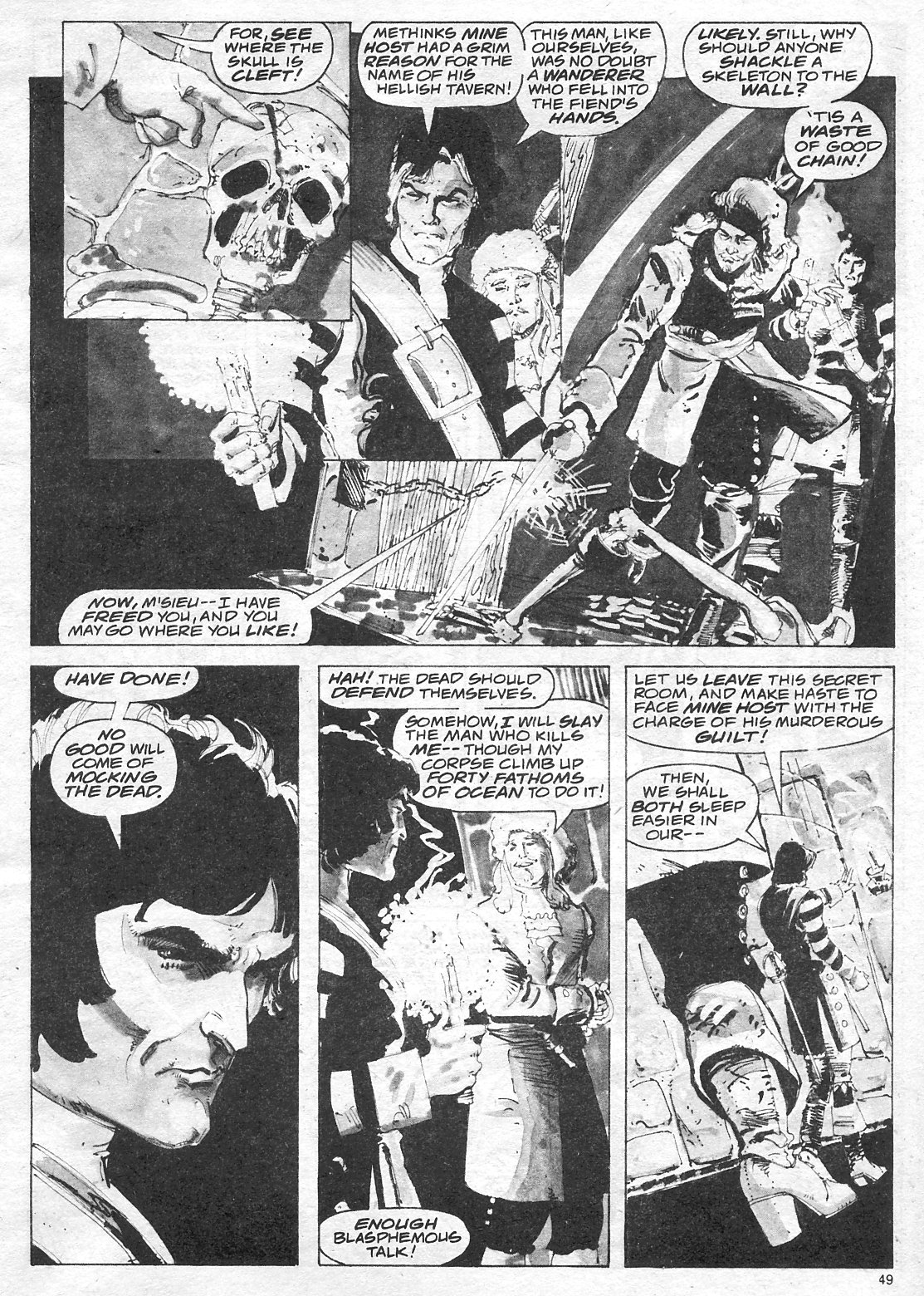 The Savage Sword Of Conan Issue #18 #19 - English 49