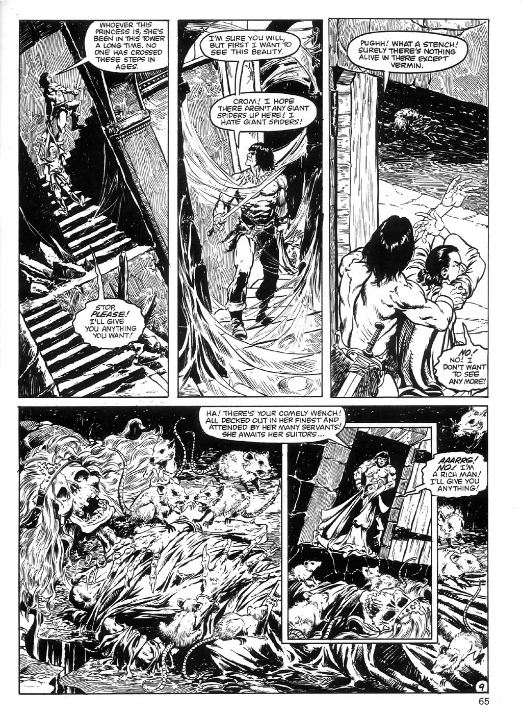 The Savage Sword Of Conan Issue #98 #99 - English 65