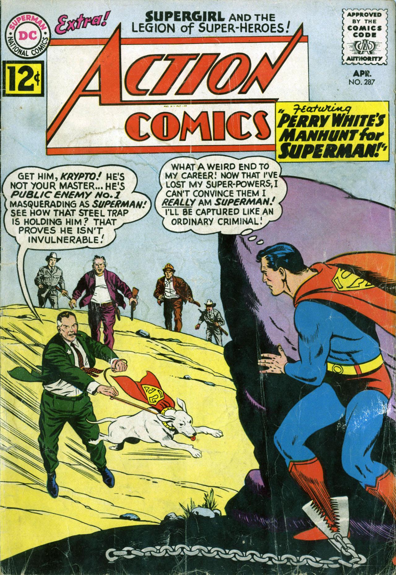 Action Comics (1938) 287 Page 1