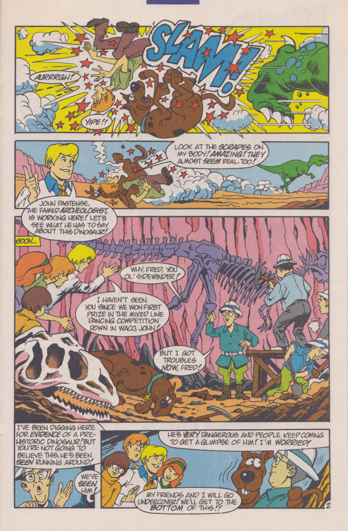Read online Scooby-Doo (1995) comic -  Issue #8 - 25