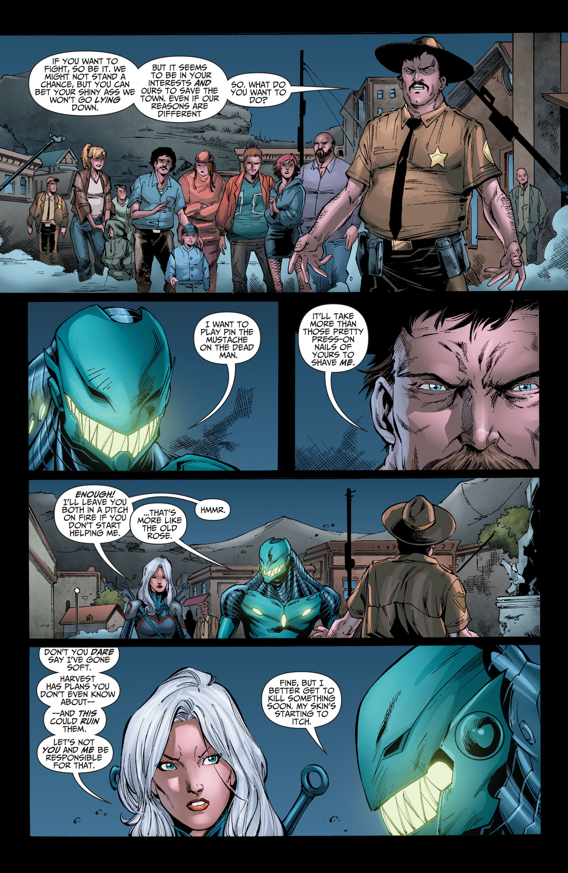Read online The Ravagers comic -  Issue #8 - 18
