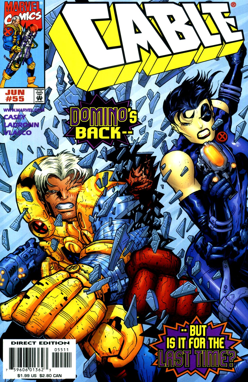 Cable (1993) 55 Page 1