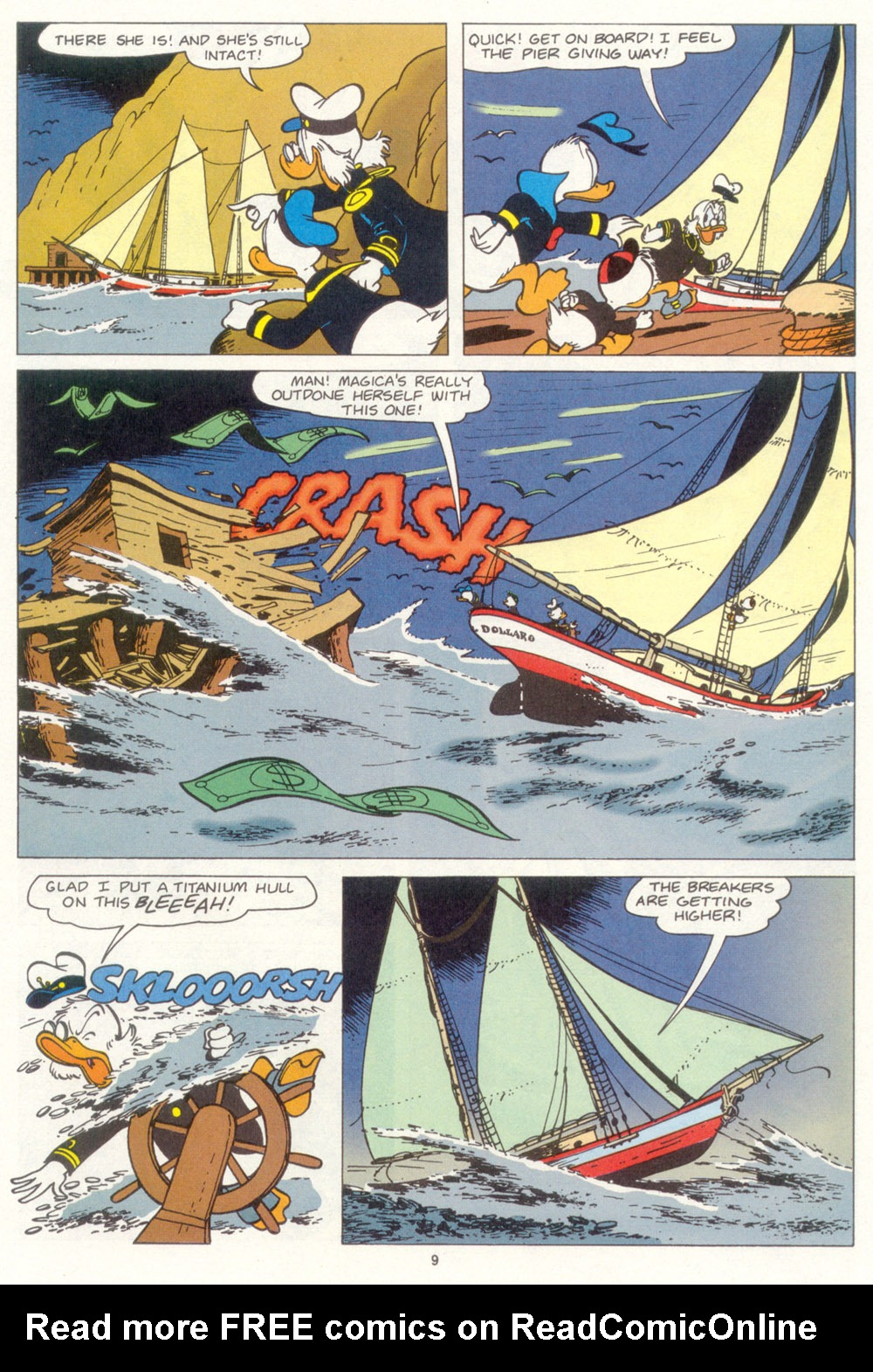 Uncle Scrooge (1953) Issue #267 #267 - English 10