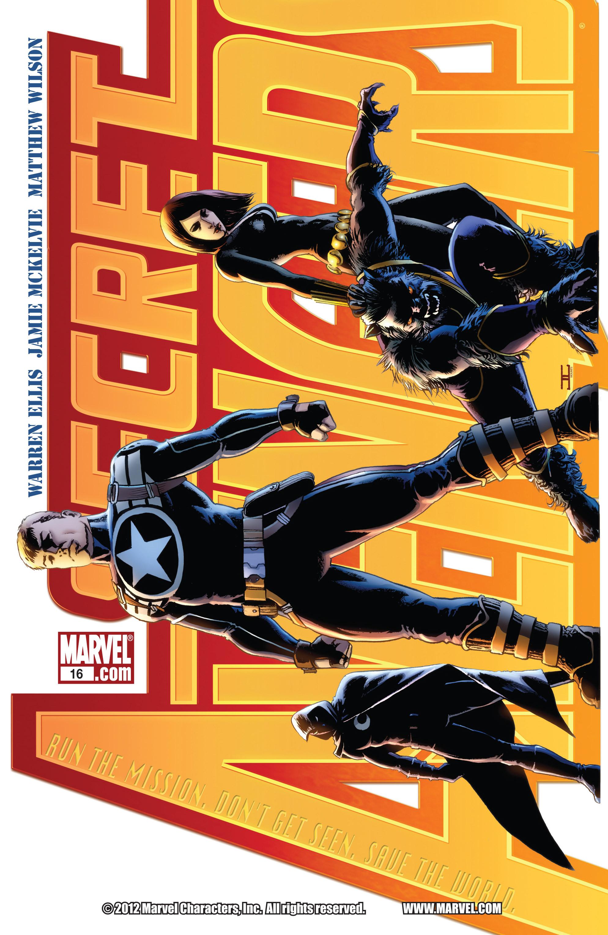 Read online Secret Avengers (2010) comic -  Issue #16 - 1