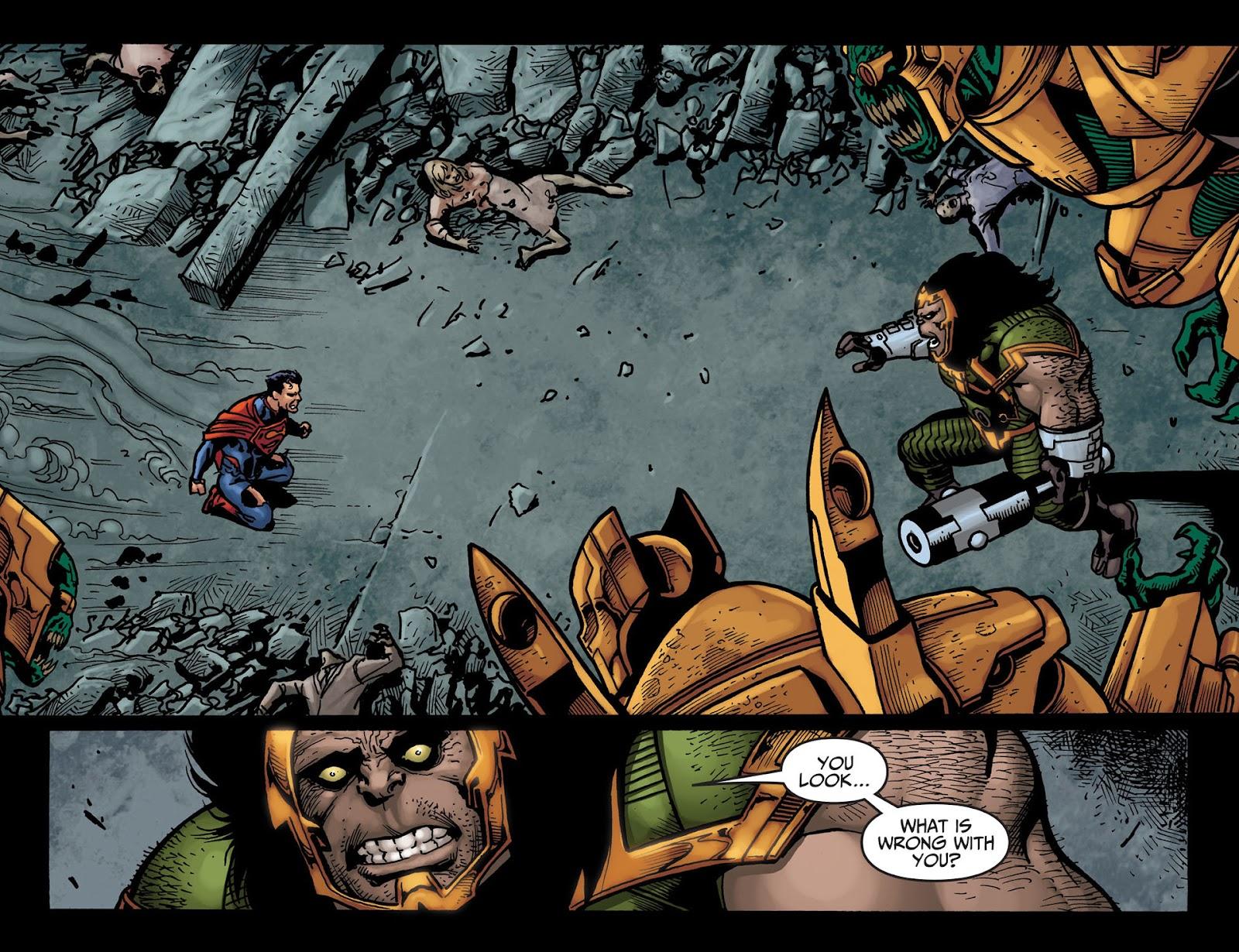 Injustice: Gods Among Us [I] Issue #23 #24 - English 3