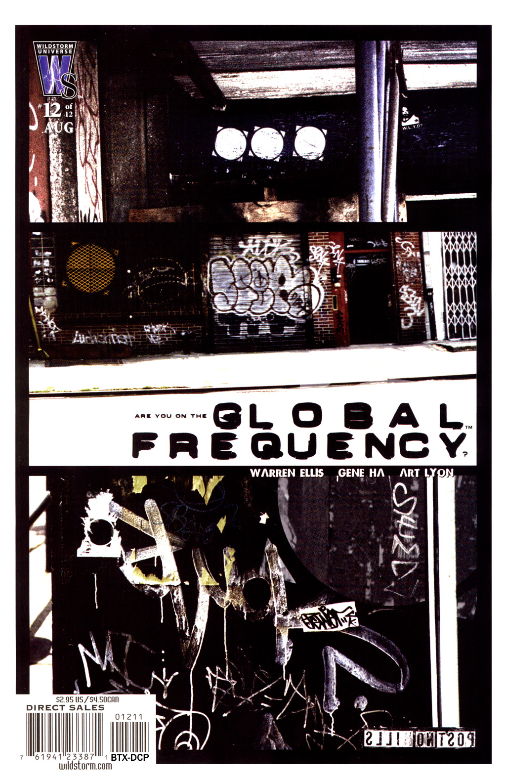 Global Frequency issue 12 - Page 1
