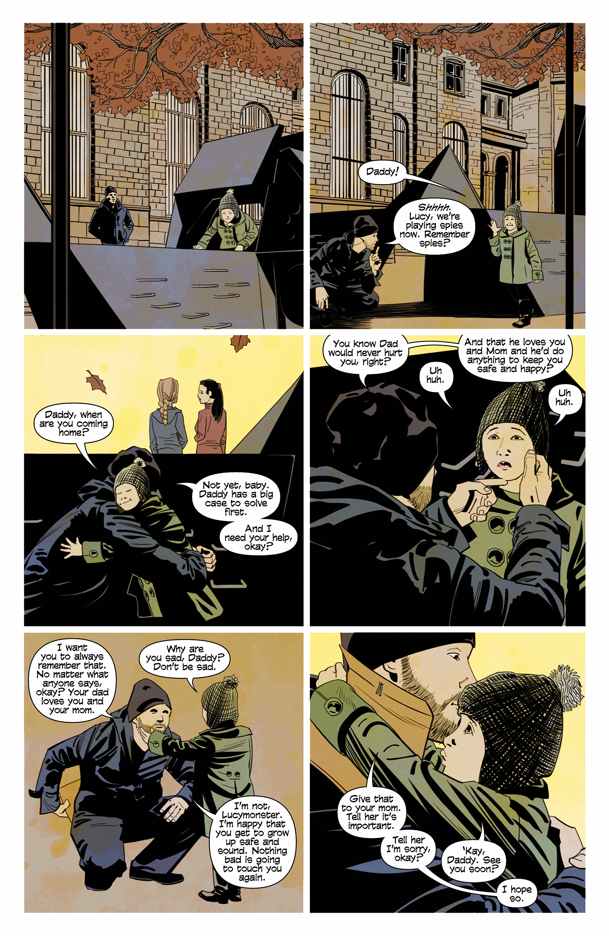 Read online Demonic comic -  Issue #6 - 6
