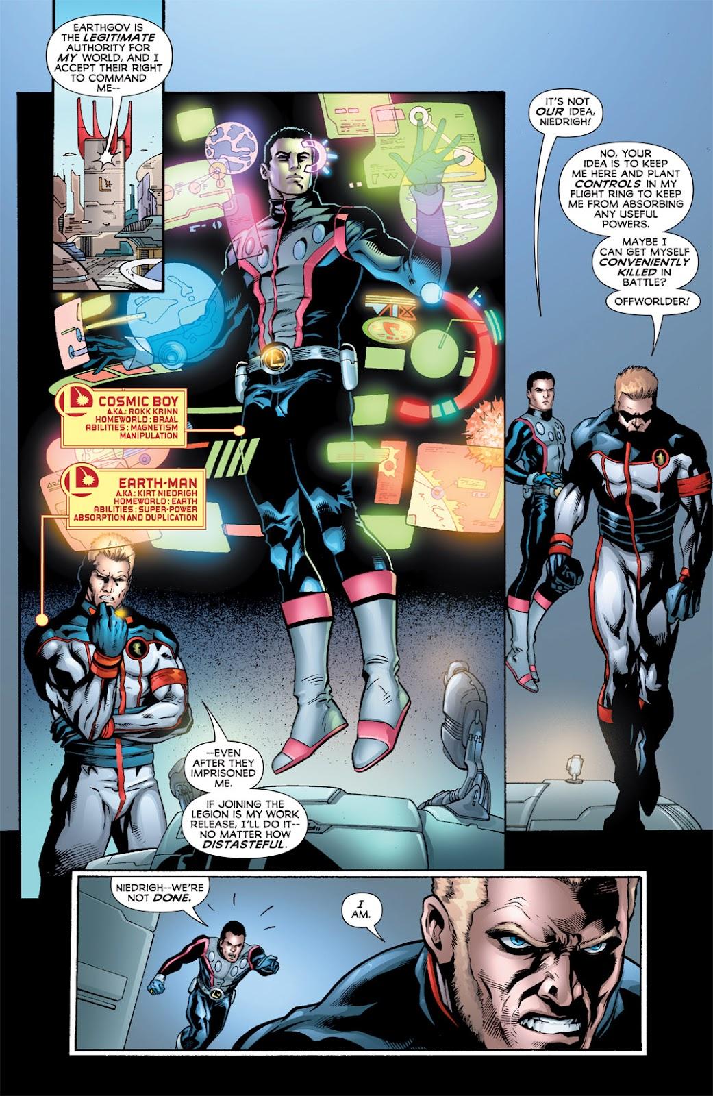 Legion of Super-Heroes (2010) Issue #2 #3 - English 10