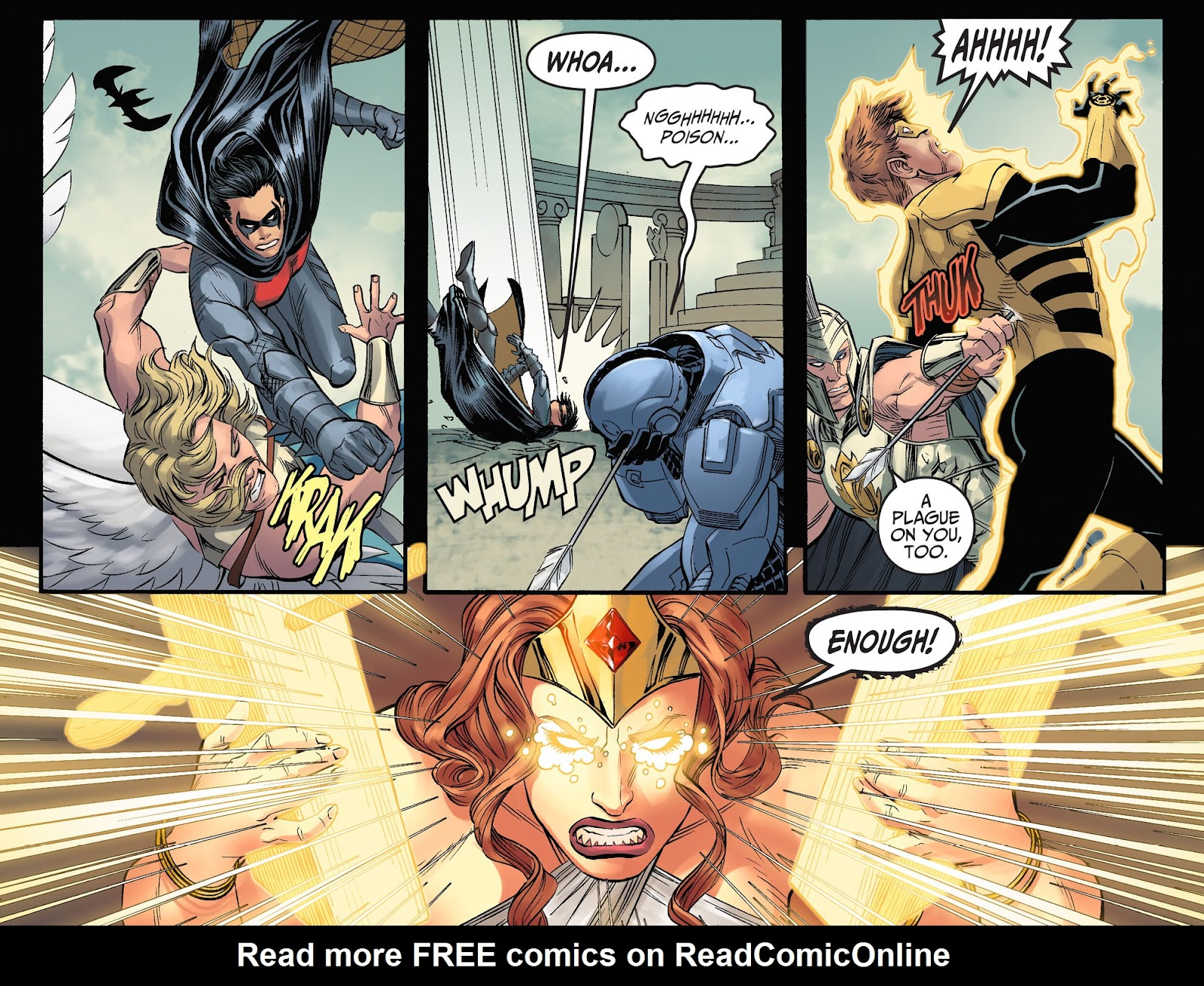 Injustice: Gods Among Us Year Four Issue #23 #24 - English 10