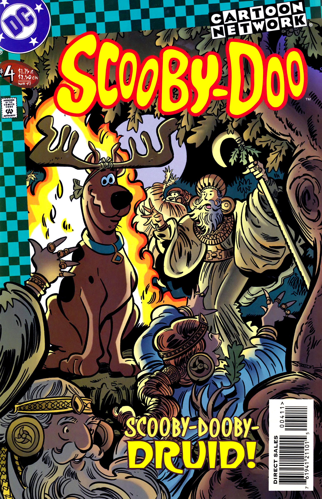 Read online Scooby-Doo (1997) comic -  Issue #4 - 1