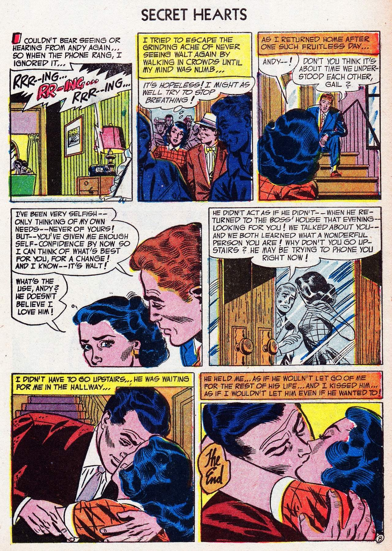 Read online Secret Hearts comic -  Issue #16 - 33