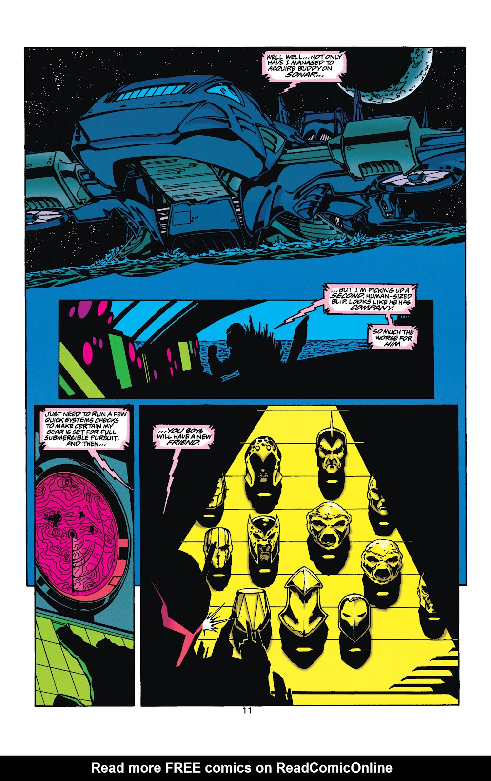 Aquaman (1994) Issue #35 #41 - English 11