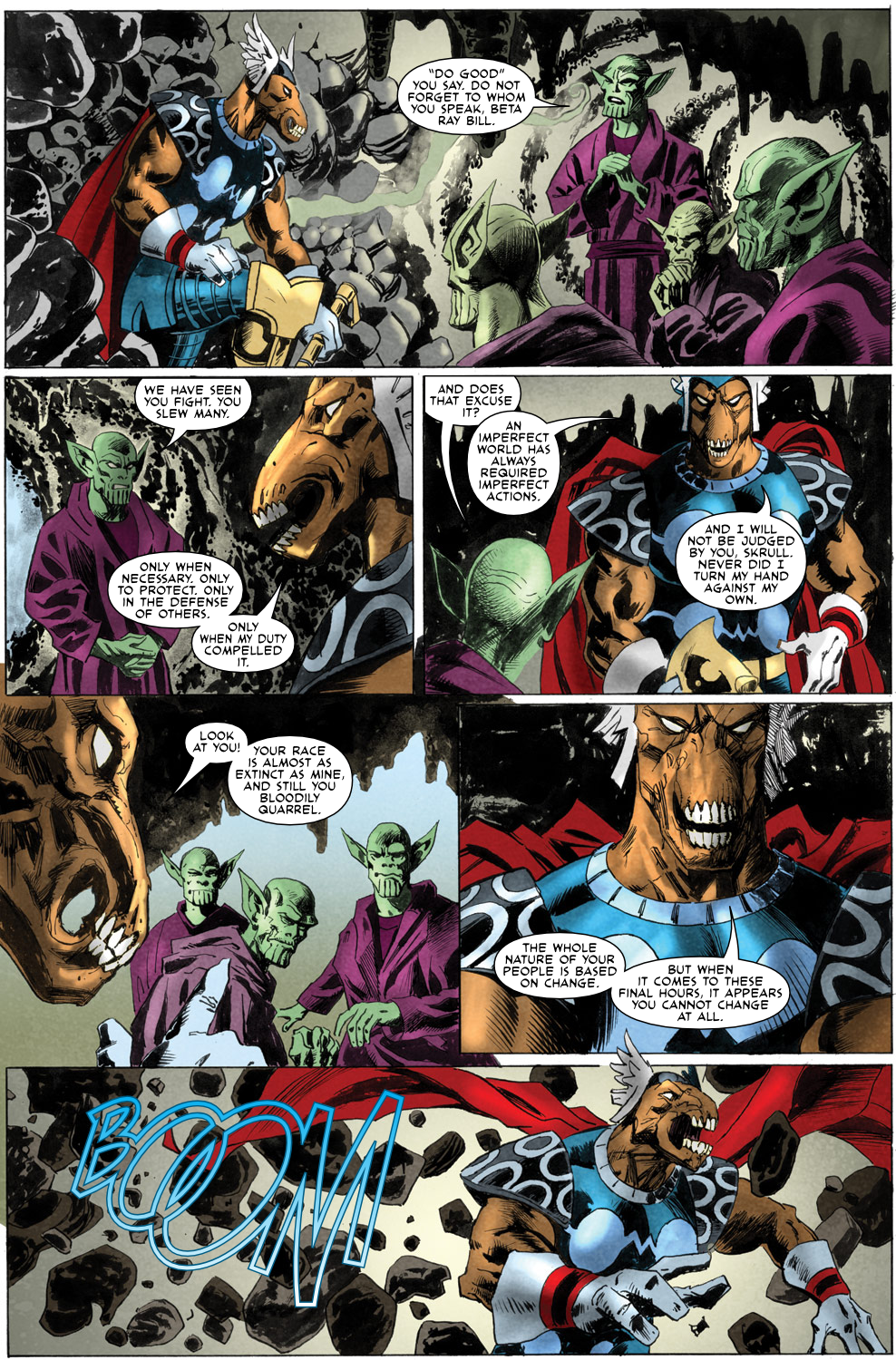 Read online Secret Invasion Aftermath: Beta Ray Bill - The Green of Eden comic -  Issue # Full - 23