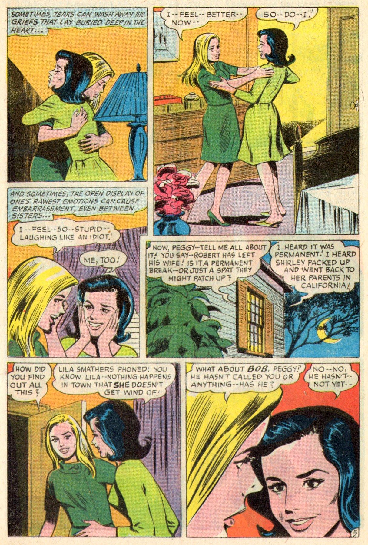 Read online Secret Hearts comic -  Issue #117 - 24