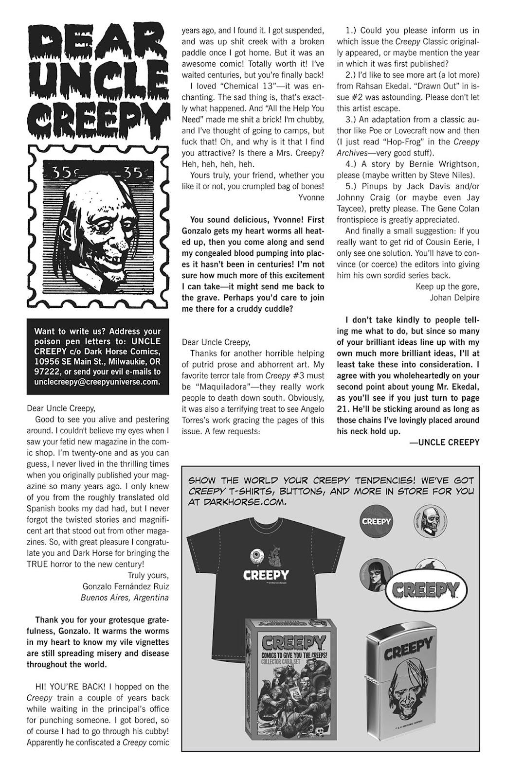 Creepy (2009) Issue #4 #4 - English 4